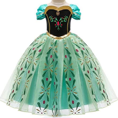 Princezna Anna Karnevalový Kostým Ľadové Kráľovstvo