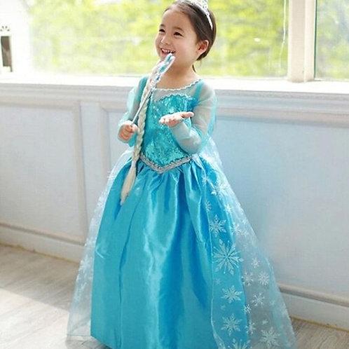 ELSA šaty - Karnevalový kostým princezná Elsa 1
