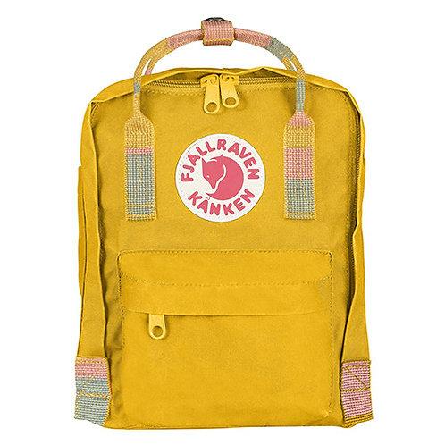 Fjällräven MINI Žltý Random Blocked detský batoh