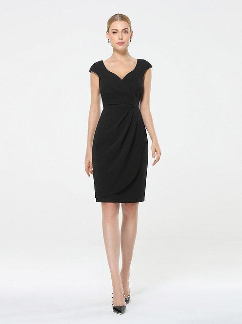 Čierne Krátke šaty