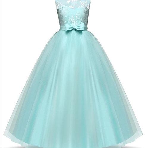 Dievčenské šaty Aqua Green  Heart SKLADOM