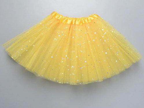 Yellow STAR TUTU Skladom