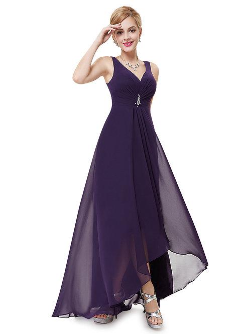 Fialové Spoločenské šaty 9983 SKLADOM