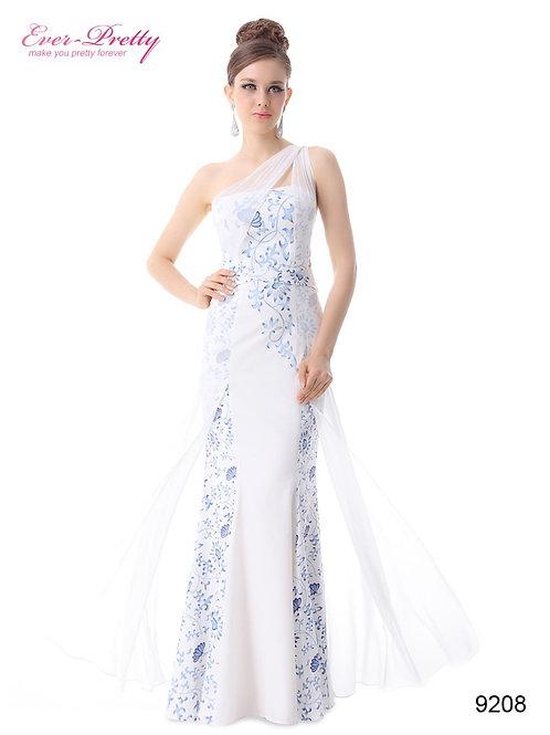 Biele spoločenské šaty 9208 SKLADOM