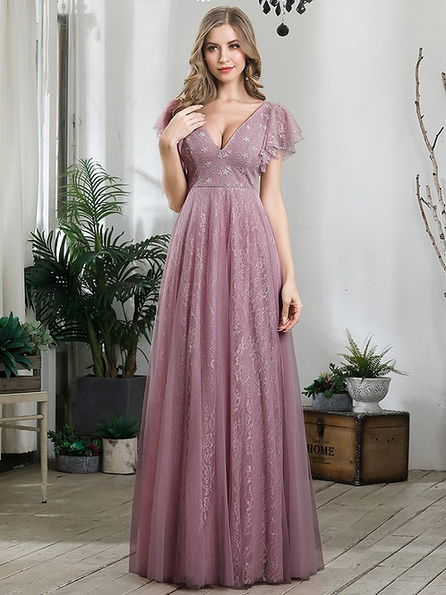Fialovékrajkové šaty ORCHID 0857