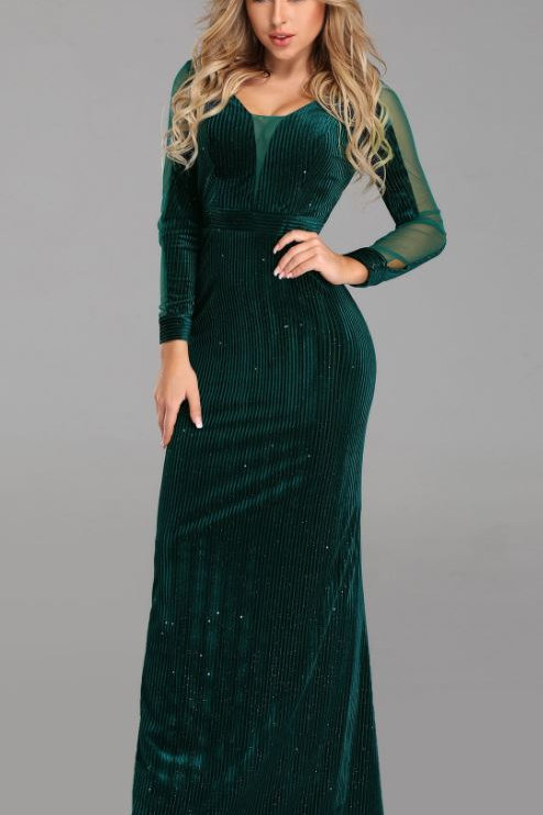Zelené šaty 7394