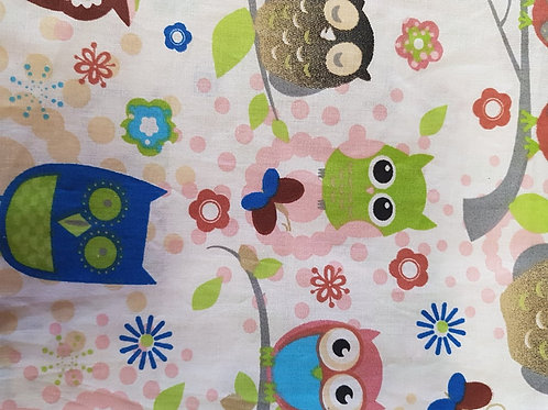 Trojvrstvové Textilné Ochranné Rúško SO012
