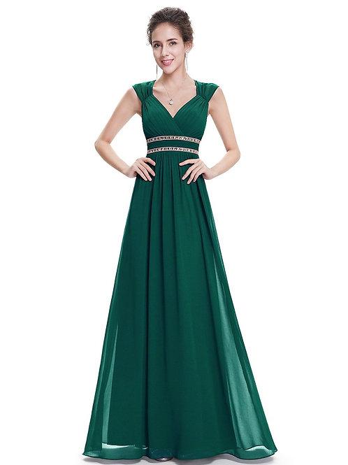 Zelené Spoločenské šaty 8697 SKLADOM