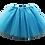 Thumbnail: Tyrkysová TUTU suknička 44cm