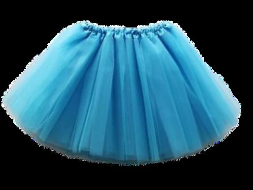 Tyrkysová TUTU suknička 44cm