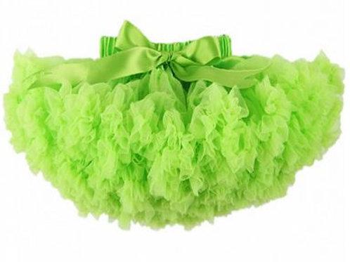 Neon green DOLLY sukňa SKLADOM