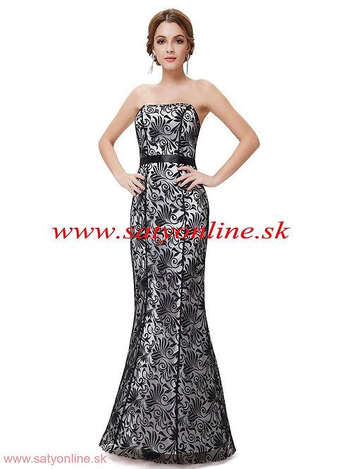 Vzorované šaty 8247 SKLADOM