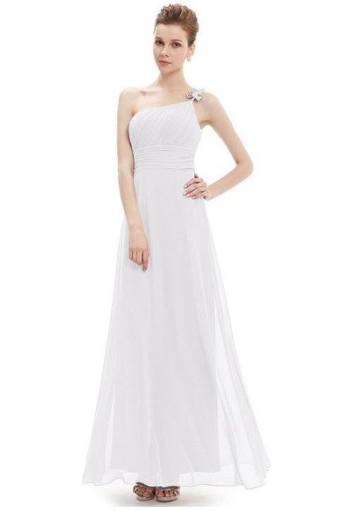 Biele šaty 9596 SKLADOM