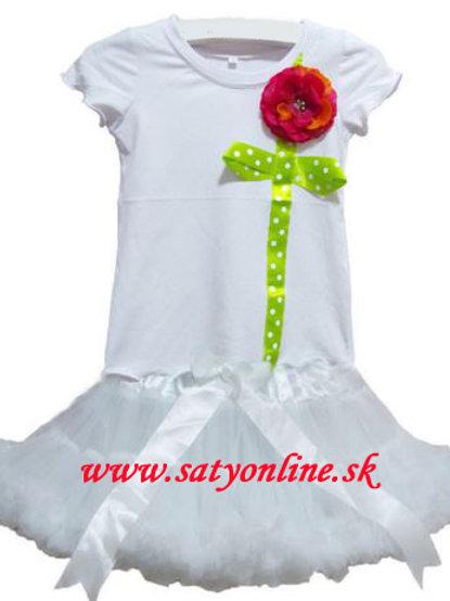 White Flower Dolly SET