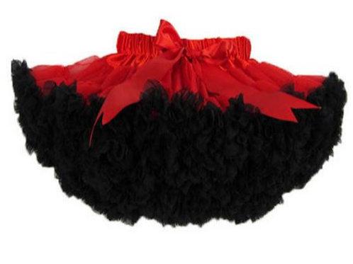 Červeno čierna DOLLY sukňa