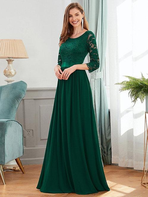 Spoločenské šaty Green 7412