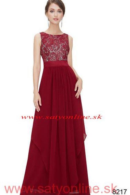 Bodrové krajkové šaty 8217 SKLADOM