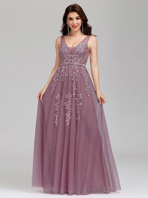 Fialové krajkove šaty ORCHID 7544