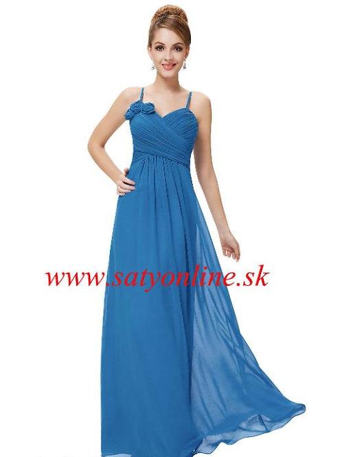 Modré spoločenské šaty 8230 SKLADOM