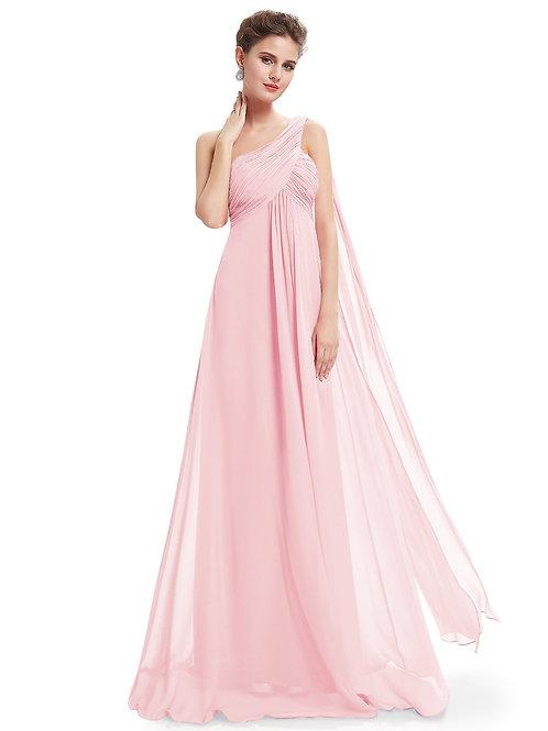 Spoločenské šaty na jedno rameno 9816
