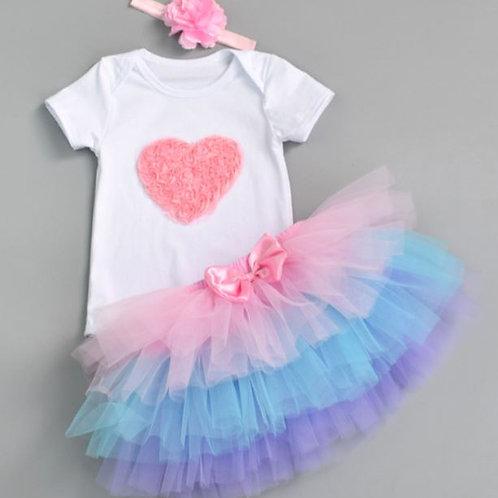 Pink Heart Baby SET SKLADOM
