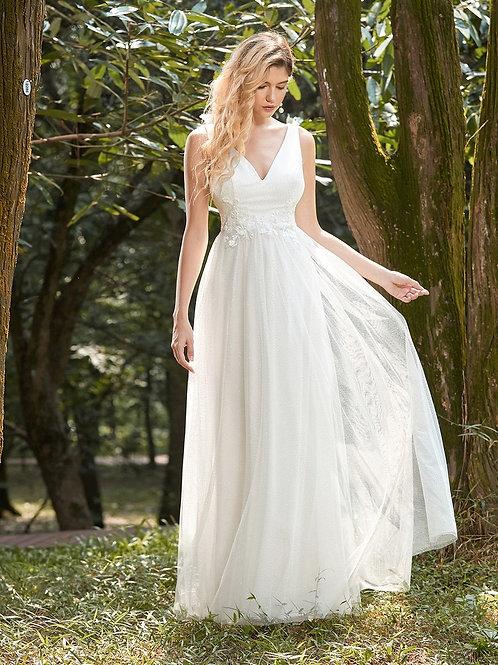 Svadobné- Spoločenské šaty 0789