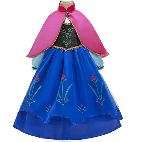 ANNA šaty - Karnevalový kostým princezná Elsa