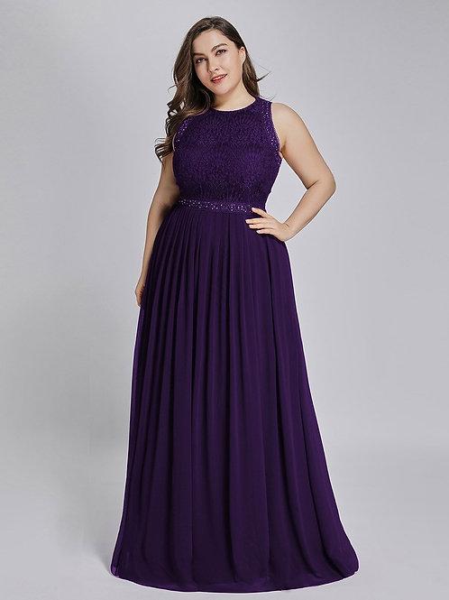 Spoločenské šaty Fialové 7391