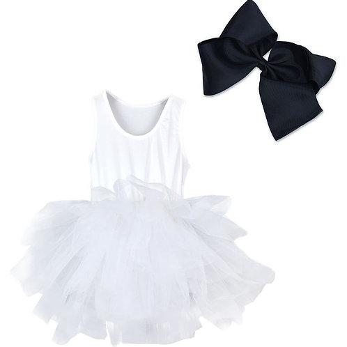 TUTU Body ŠATY na Balet WHITE