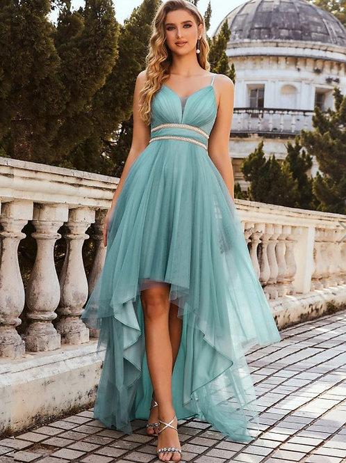 Spoločenské šaty Dusty Blue 00212