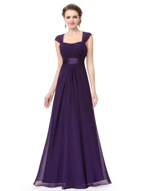 Fialové šaty 8834