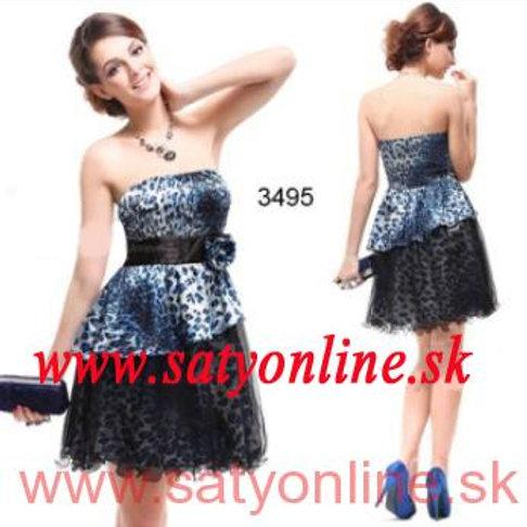 Vzorovane šaty 3495 SKLADOM