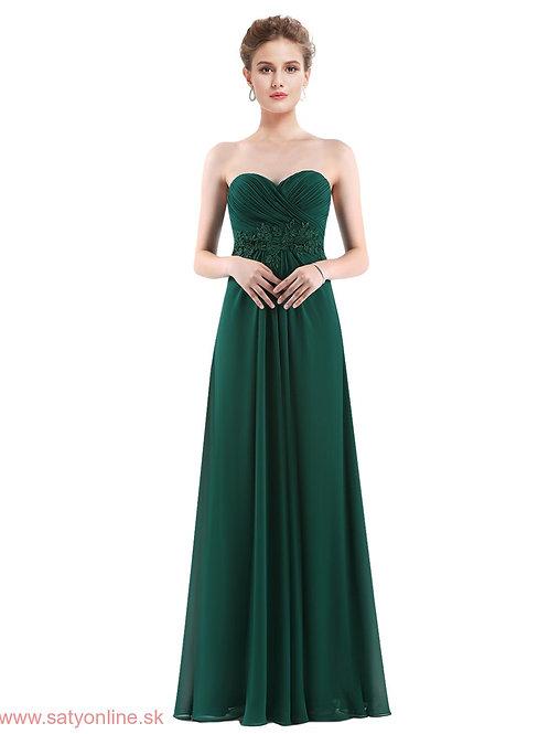 Tmavo zelené šaty 8864 SKLADOM