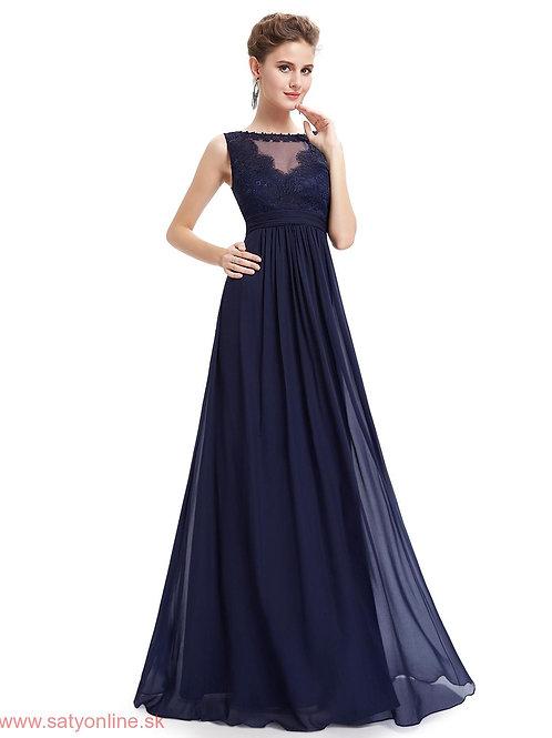 Tmavo modré šaty 8715 SKLADOM