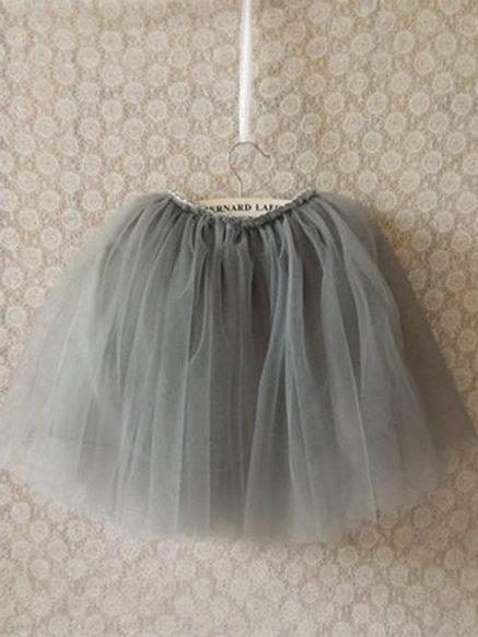 Siva TUTU suknička