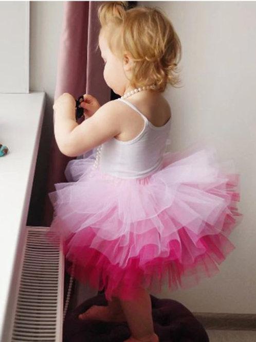 TUTU Ružova DUHA sukňa