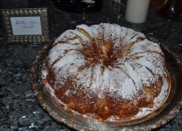 """Rum Bundt Cake (10"""")"""