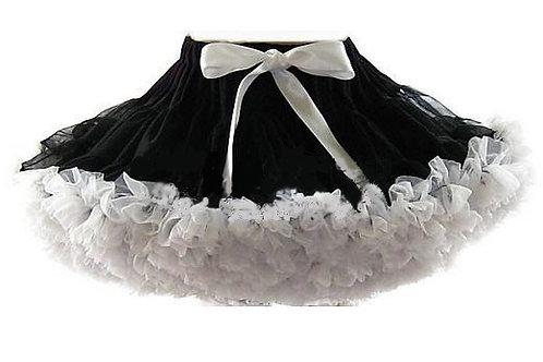 Čierno biela DOLLY sukňa