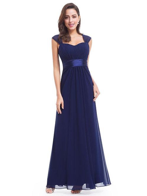 Modré  šaty 8834