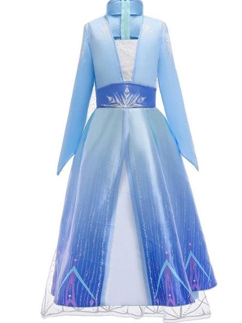 ELSA šaty - Karnevalový kostým princezná Elsa7