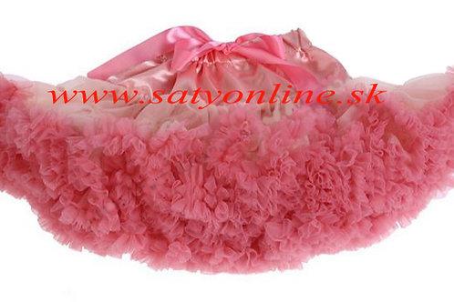 Marhuľková Coral DOLLY sukňa XL SKLADOM