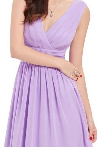 Fialové krátke šaty 3989 SKLADOM