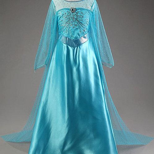 ELSA šaty - Karnevalový kostým princezná Elsa3