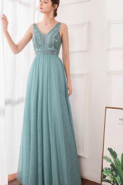 Dusty Blue krajkové šaty 0888