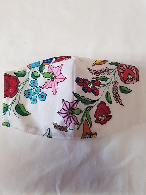 Trojvrstvové Textilné Ochranné Rúško WH004