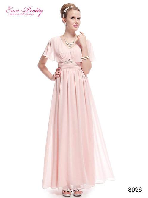Ružove spoločenské šaty 8096 SKLADOM