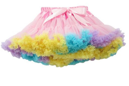 Pink Rainbow DOLLY pettiskirt