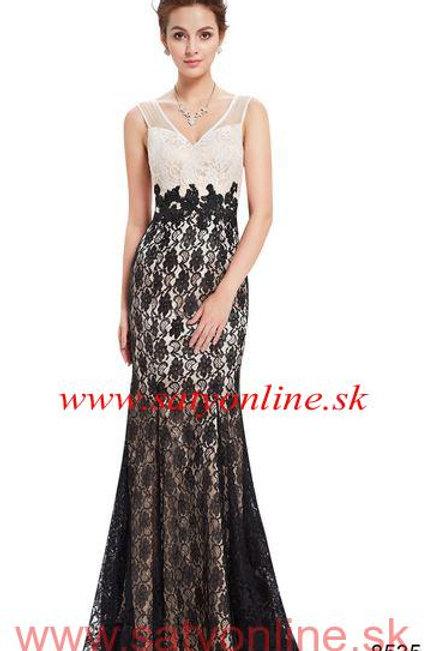 Krajkové spoločenské šaty 8535 SKLADOM