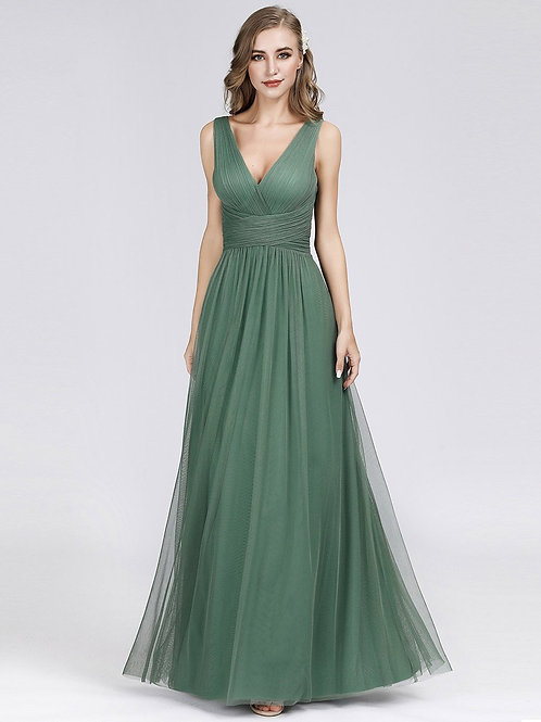 Zelené šaty DustyGreen 7526