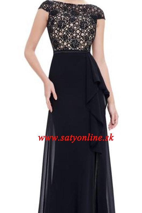 Čierne krajkove šaty 8901 SKLADOM